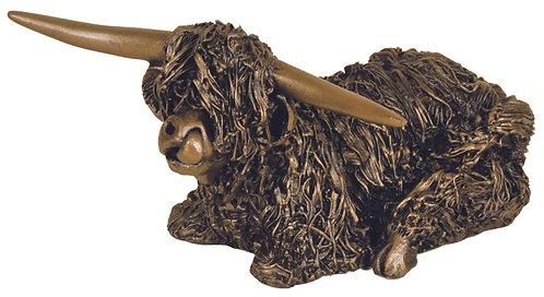 Highland Bull Sitting (Large)