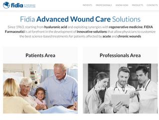 Produzione video contents per nuovo sito fidiawoundcare.com