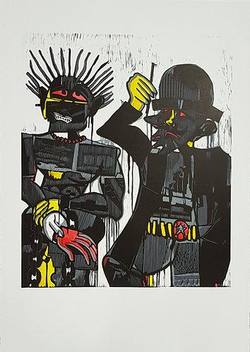 Blessing Ngobeni - Black Rubber II