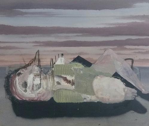 Bastiaan van Stenis : Sea Bird , Oil on Canvas