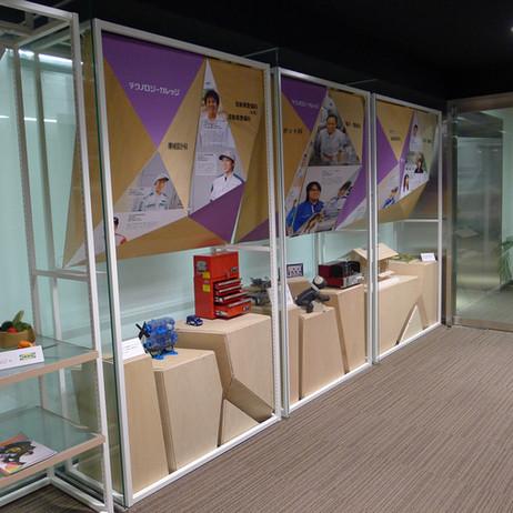 日本工学院スチューデントギャラリー展示
