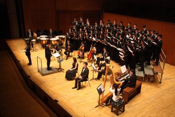 Tenor solo of HKU Union Choir