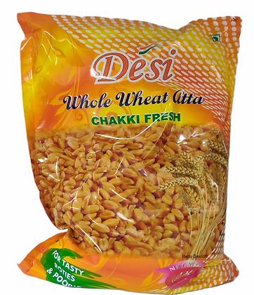 Desi Whole Wheat Atta 1kg