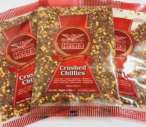 Heera Crushed Chillies 50g