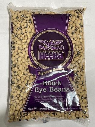 Heera Black Eye Beans 500g