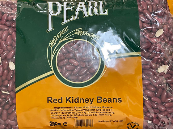 White Pearl - Red Kidney Beans 2Kg