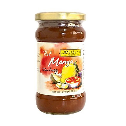 Mother's Recipe Hot Mango Chutney 340g