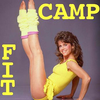 Camp Fit: Jane Fonda doing aerobics in Leg Warmers