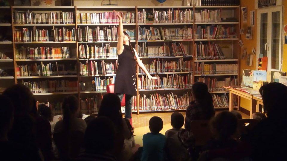 Cuentos en bibliotecas municipales