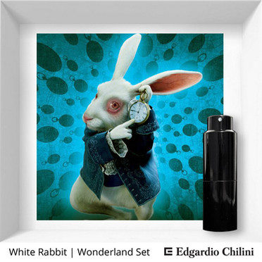 Profumo di nicchia White Rabbit Wonderland Set Edgardio Chilini