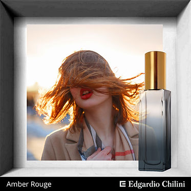 Niche fragrance Amber Rouge, Edgardio Chilini
