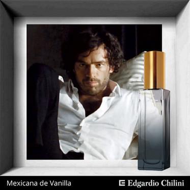 Niche fragrance Mexicana de Vanilla, Edgardio Chilini