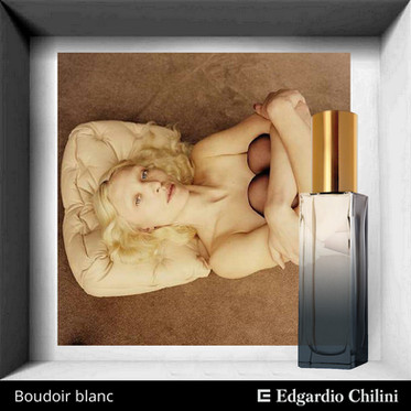 Niche fragrance Boudoir blanc Edgardio Chilini