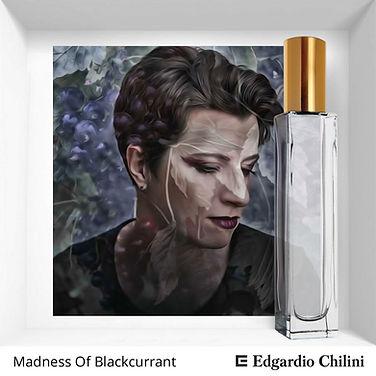 Niche fragrance Madness Of Blackcurrant | Edgardio Chilini