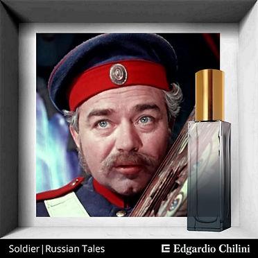 Niche fragrance Soldier. Russian tales, Edgardio Chilini