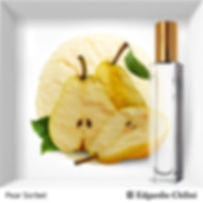 Niche fragrance Pear Sorbet | Edgardio Chilini