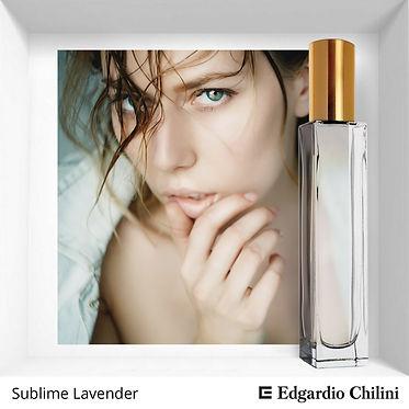 Niche fragrance Sublime Lavender | Edgardio Chilini