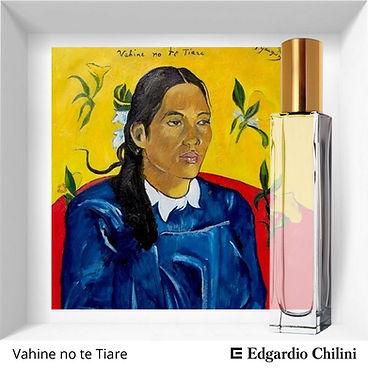 Niche fragrance Vahine no te Tiare | Edgardio Chilini