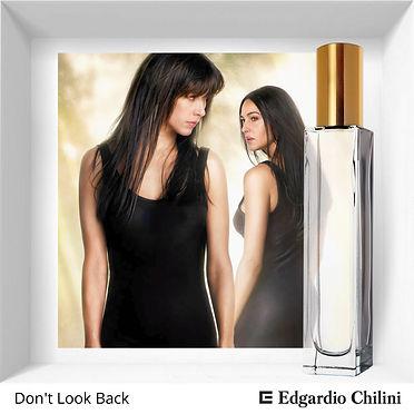 Niche fragrance Don't Look Back | Edardio Chilini