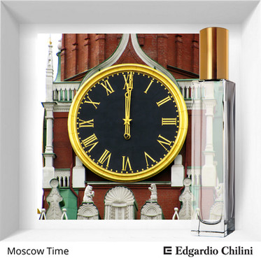 Niche fragrance Moscow Time | Edgardio Chilini
