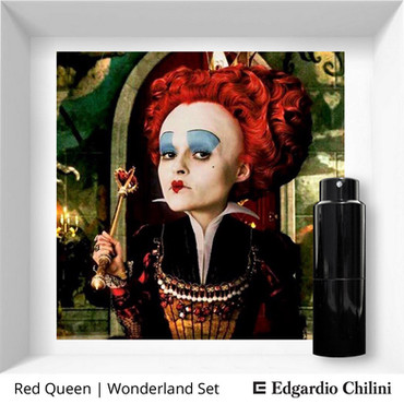 Profumo di nicchia Red Queen Wonderland Set Edgardio Chilini