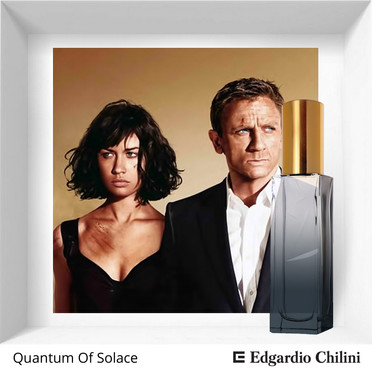 Niche fragrance Quantum of Solace Edgardio Chilini