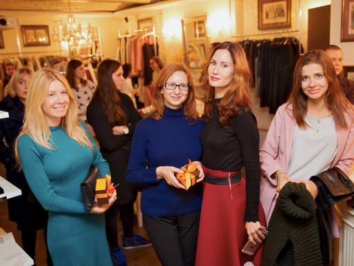 Анна Киселевская | Розыгрыш лотереи на презентации коллекции женской одежды Karina Vessna