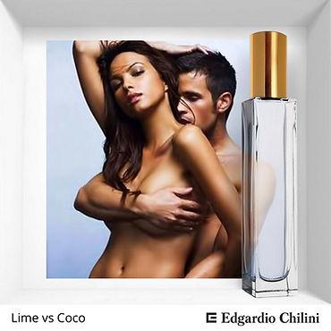 Niche fragrance Lime vs Coco | Edgardio Chilini