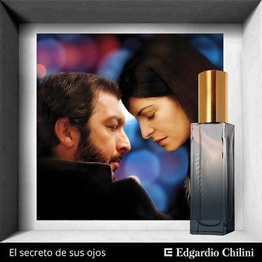 Niche fragrance El secreto de sus ojos, Edgardio Chilini