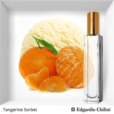 Niche fragrance Tangerine Sorbet | Edgadio Chilini
