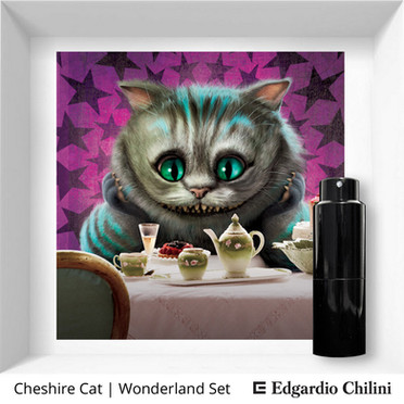 Profumo di nicchia Cheshire Cat Wonderland Set Edgardio Chilini