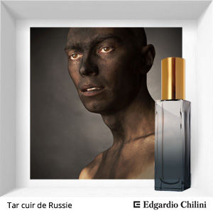 Нишевый аромат Tar Cuir de Russie Edgardio Chilini