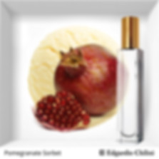 Niche fragrance Pomegranate Sorbet| Edgardio Chilini