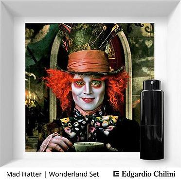 Niche fragrance Mad Hatter Wonderland Set Edgardio Chilini