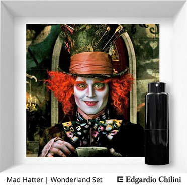 Profumo di nicchia Mad Hatter Wonderland Set Edgardio Chilini