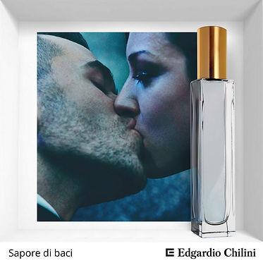 Niche fragrance Sapore di baci | Edgardio Chilini