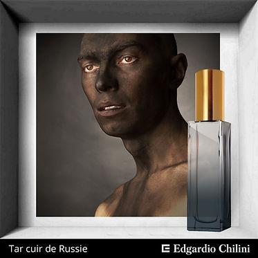 Нишевый аромат Tar Cuir de Russie, Edgardio Chilini