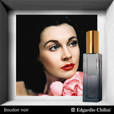 Fragranza di nicchia Boudoir noir, Edgardio Chilini
