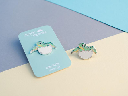 Baby Turtle - Pin