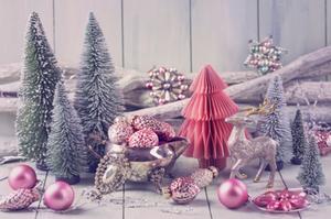 Pink Christmas, Color Scheme, Holiday Decor