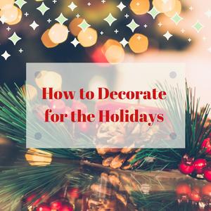 Holiday decor blog, Christmas decorating tips