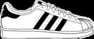 adidas-shoes-clipart-adidas-superstar-83