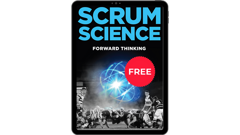 16 PAGE EXCERPT OF SCRUM SCIENCE