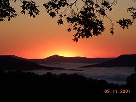Ozark Mtn Sunrise from Porch.jpg