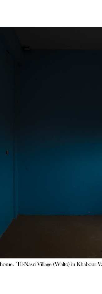 Light in a Blue Room
