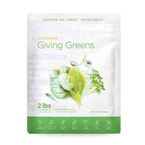 GivingGreens תערובת עלים ירוקים