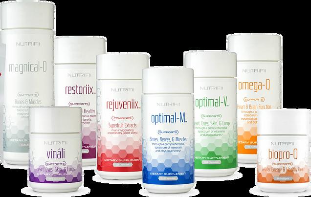 חבילת בריאות מקיפה Nutrifii