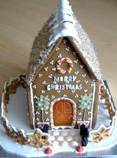 Personalised Gingerbread House