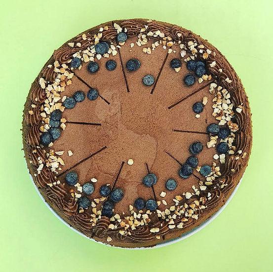 "Vegan Chocolate Cake 9"""