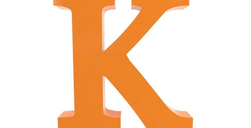 Letra K - 19x19cm